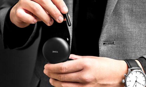 LG Tone Free: słuchawki ze wsparciem antybakteryjnym (lampa UV) i muzycznym (Meridian)