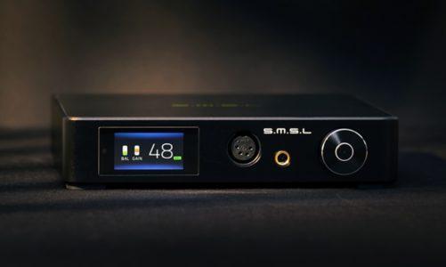 SMSL SP400: mocny, piękny i wyposażony wzmacniacz słuchawkowy