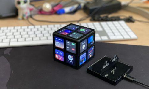 WOWCube: jak kostka Rubika, tylko każdy fragment to ekran!