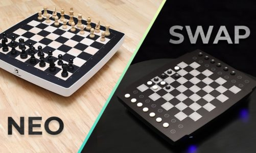 Mega gadżet: sterujesz w aplikacji, a rusza się prawdziwy pion na szachownicy!