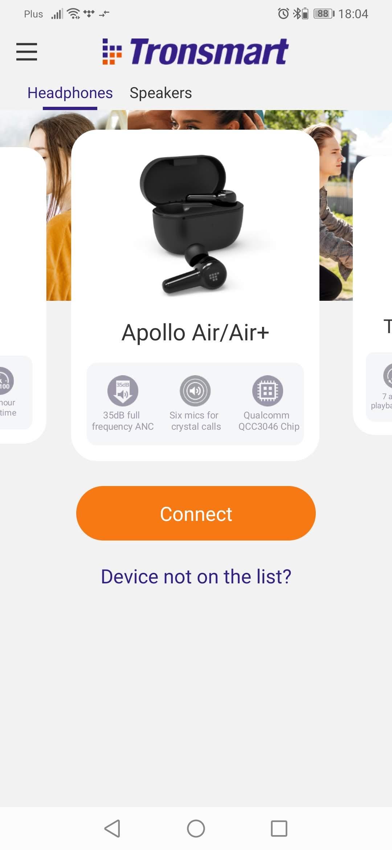 Aplikacja Tronsmart: Apollo Q10